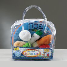 PLUSH SEDER IN VINYL SUITCASE TYPS-1