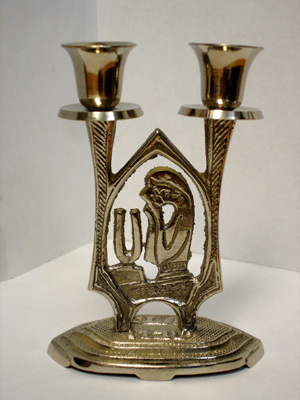 CANDLE HOLDER WOMAN NICKEL CH-714/N