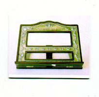 BOOK STAND PEWTER 1022-P